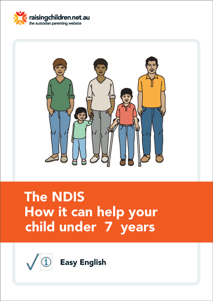 NDIS in Easy English - how it can help your child under 7 years