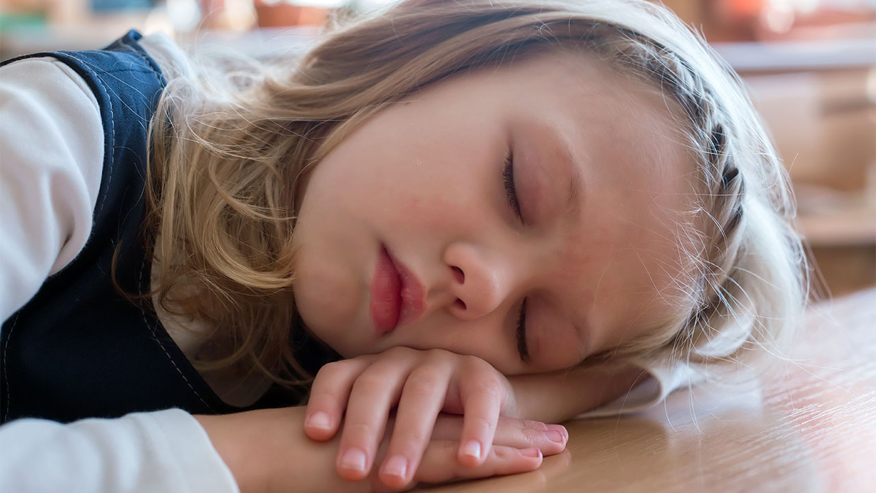 How lack of sleep affects the behavior of the child