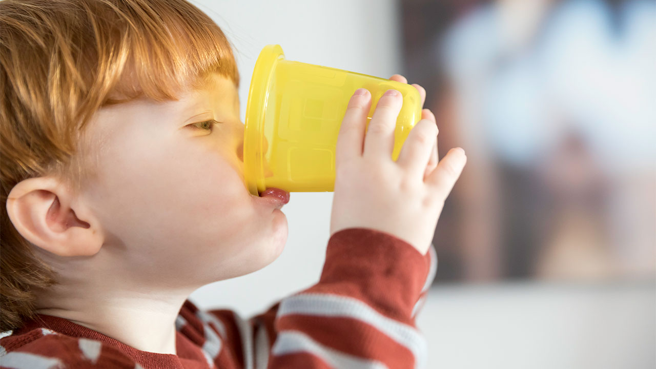 Lactose insufficiency test for infants