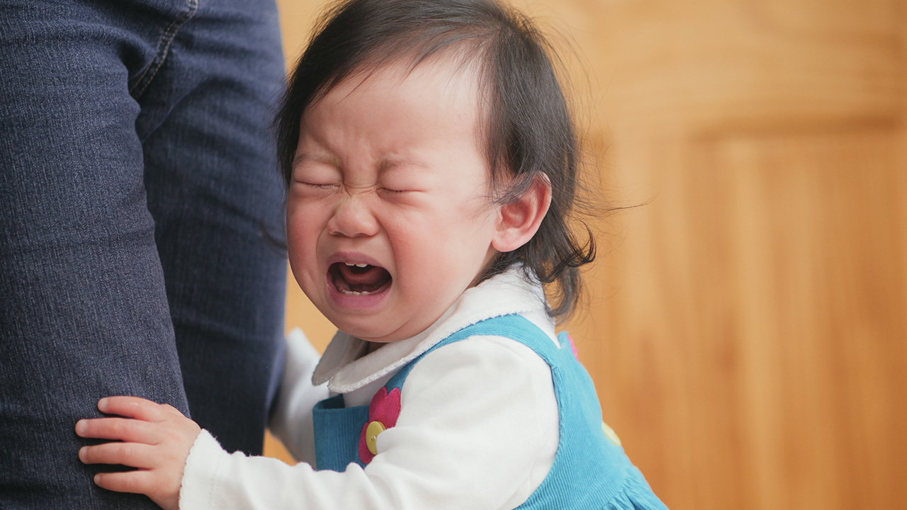 How to cope with a crying baby