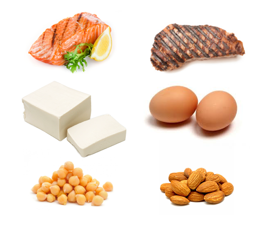 Examples of food high in protein
